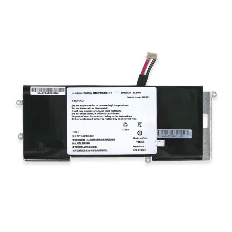 Akku für Haier X1P S520 S9 X1T X2 X3 X3T, 33.3Wh/3000mAh 11.1V SSBS63 Batterien
