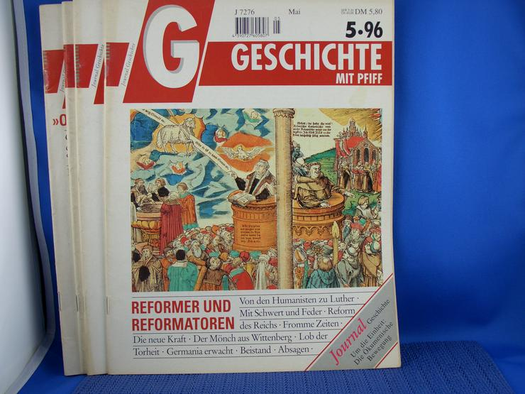 Bild 5: Geschichte  mit Pfiff  /   9  Hefte