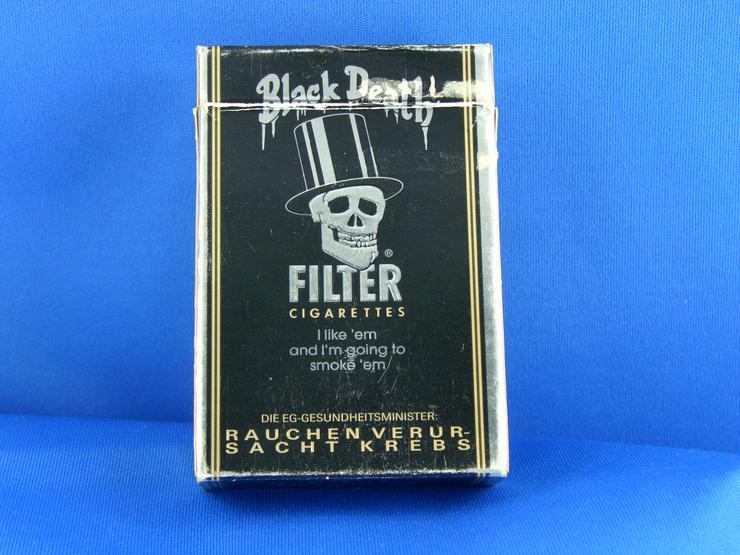 Bild 2: Toten Kopf Zigaretten Schachtel