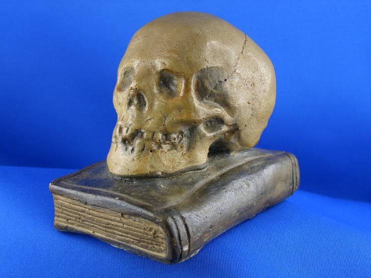 Antiken  Totenkopf Figur   - Figuren - Bild 1