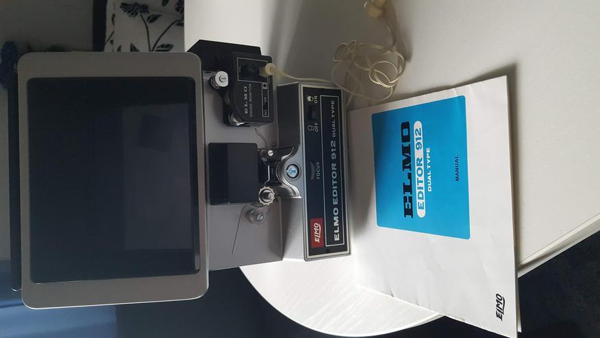 8mm-Filmschneidegerät Elmo