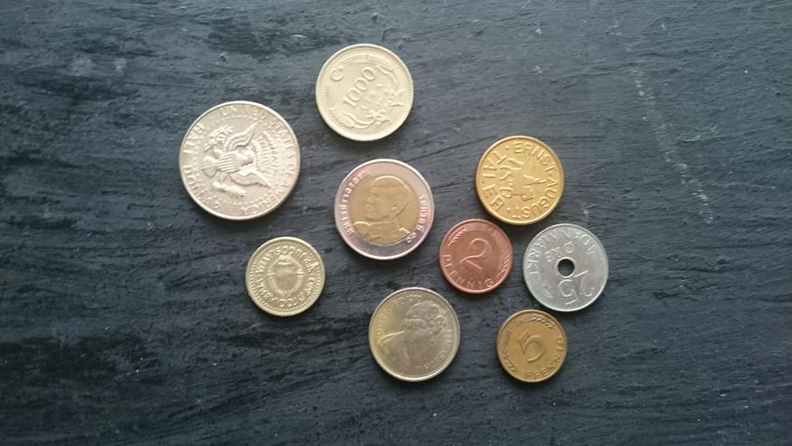 Suche Münzen zu verschenken weltweit