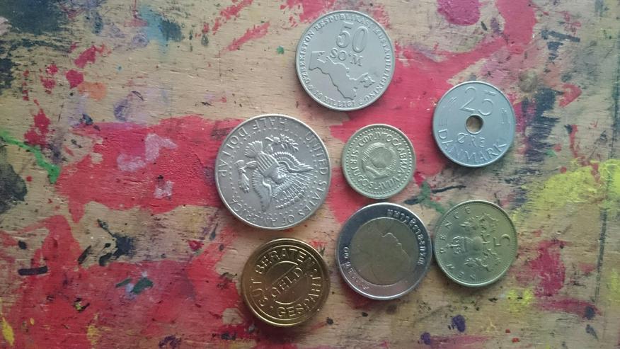 Suche Münzen und Münzschrott zu verschenken  - Weitere - Bild 1