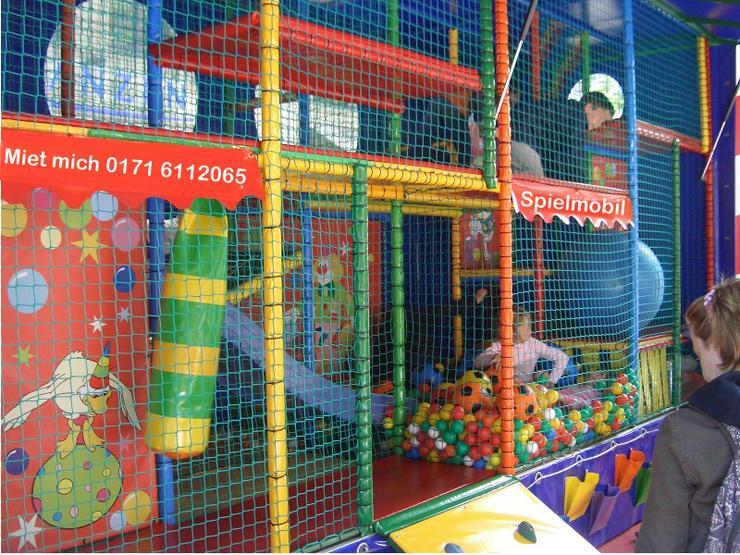 Bild 1: Spielmobil mieten, klettern, rutschen und toben bei fast jedem Wetter!