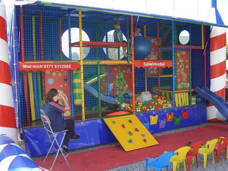 Bild 2: Spielmobil mieten, klettern, rutschen und toben bei fast jedem Wetter!