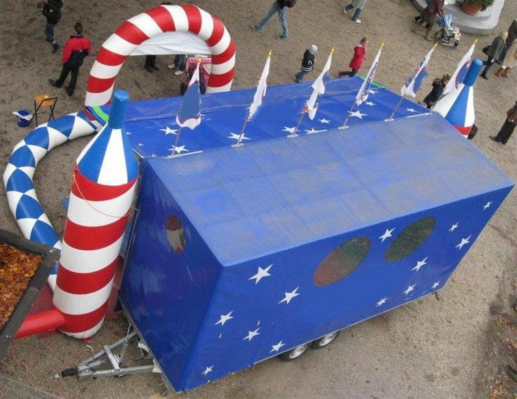 Bild 4: Spielmobil mieten, klettern, rutschen und toben bei fast jedem Wetter!