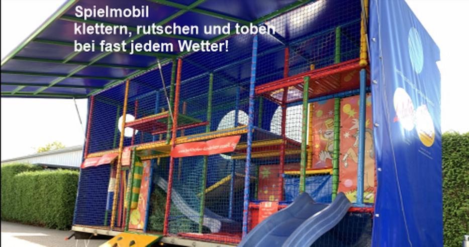 Bild 6: Spielmobil mieten, klettern, rutschen und toben bei fast jedem Wetter!