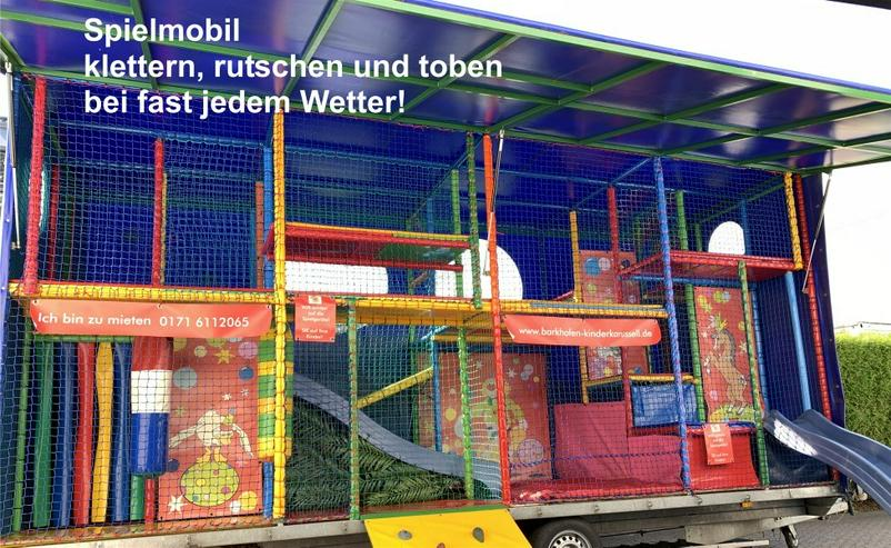 Bild 5: Spielmobil mieten, klettern, rutschen und toben bei fast jedem Wetter!