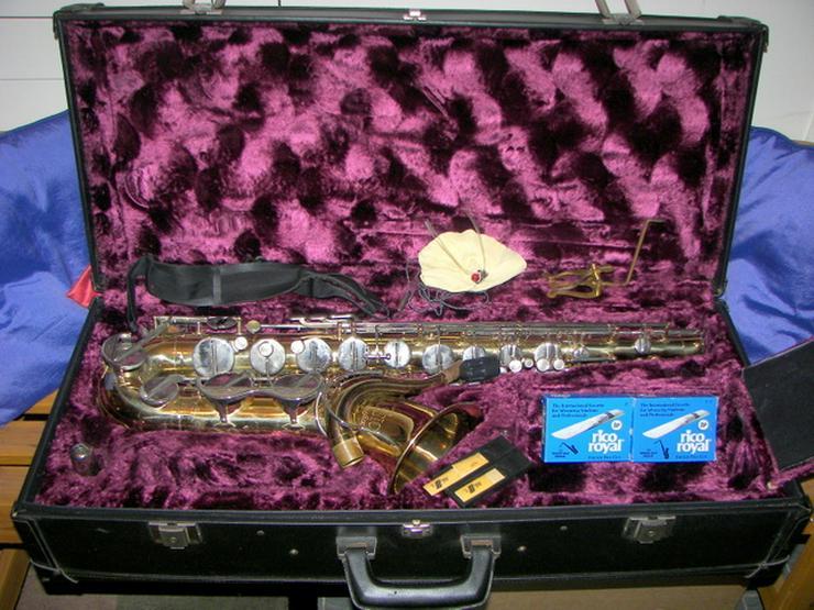 Verkaufe ein Tenor Saxophon Amati Kraslice Super Classic mit Koffer und Zubehör