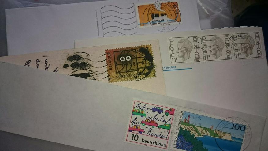 Suche Briefumschläge, Postkarten, Ansichtskarten und alte Briefe zu verschenken