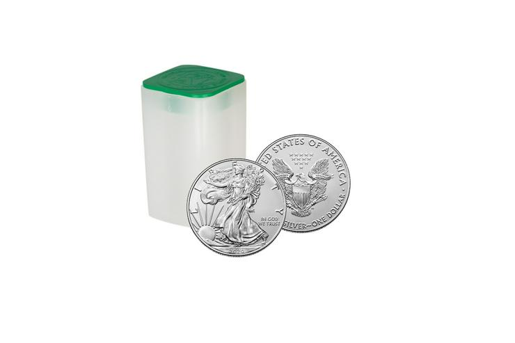Bild 4: 1$ American Eagle 2020 Silber 1 Unze