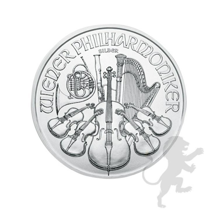 Bild 3: 1,5 Euro Wiener Philharmoniker 2021 Silber 1 Unze