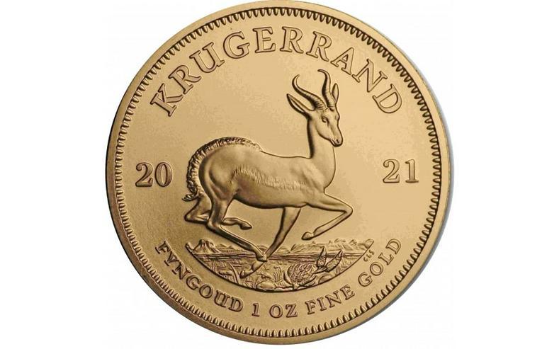 Bild 3: Krügerrand 2021 Gold 1 Unze