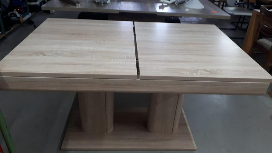 Wohnzimmer-Tisch, Eiche Sonoma, ausziehbar