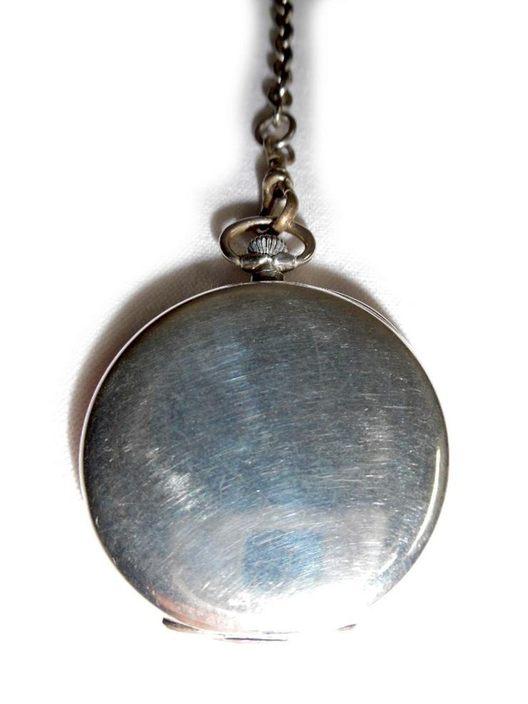 Bild 3: Schöne Taschenuhr aus 800er Silber