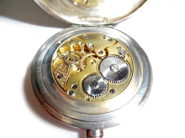 Bild 5: Schöne Taschenuhr aus 800er Silber