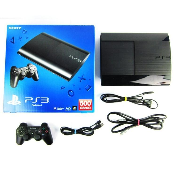 Playstation 3 Super Slim 500GB + 20 Spiele