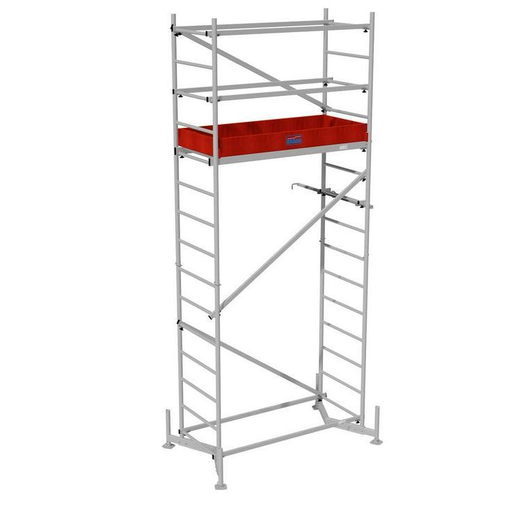 Bild 3: Rollgerüst mieten | Abholung oder Lieferung mit Aufbau wenn gewünscht