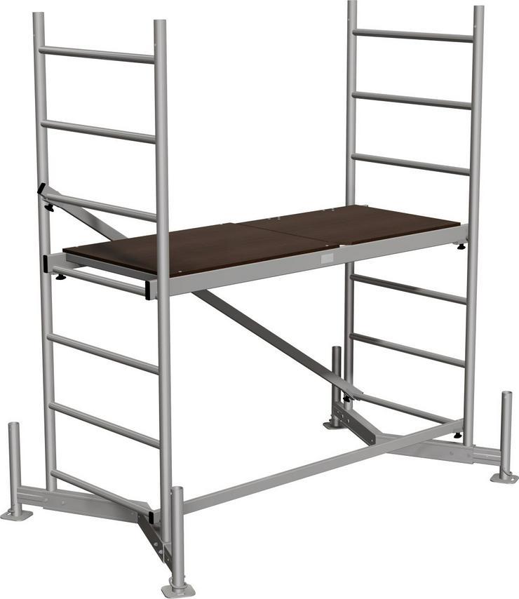 Bild 4: Rollgerüst mieten | Abholung oder Lieferung mit Aufbau wenn gewünscht