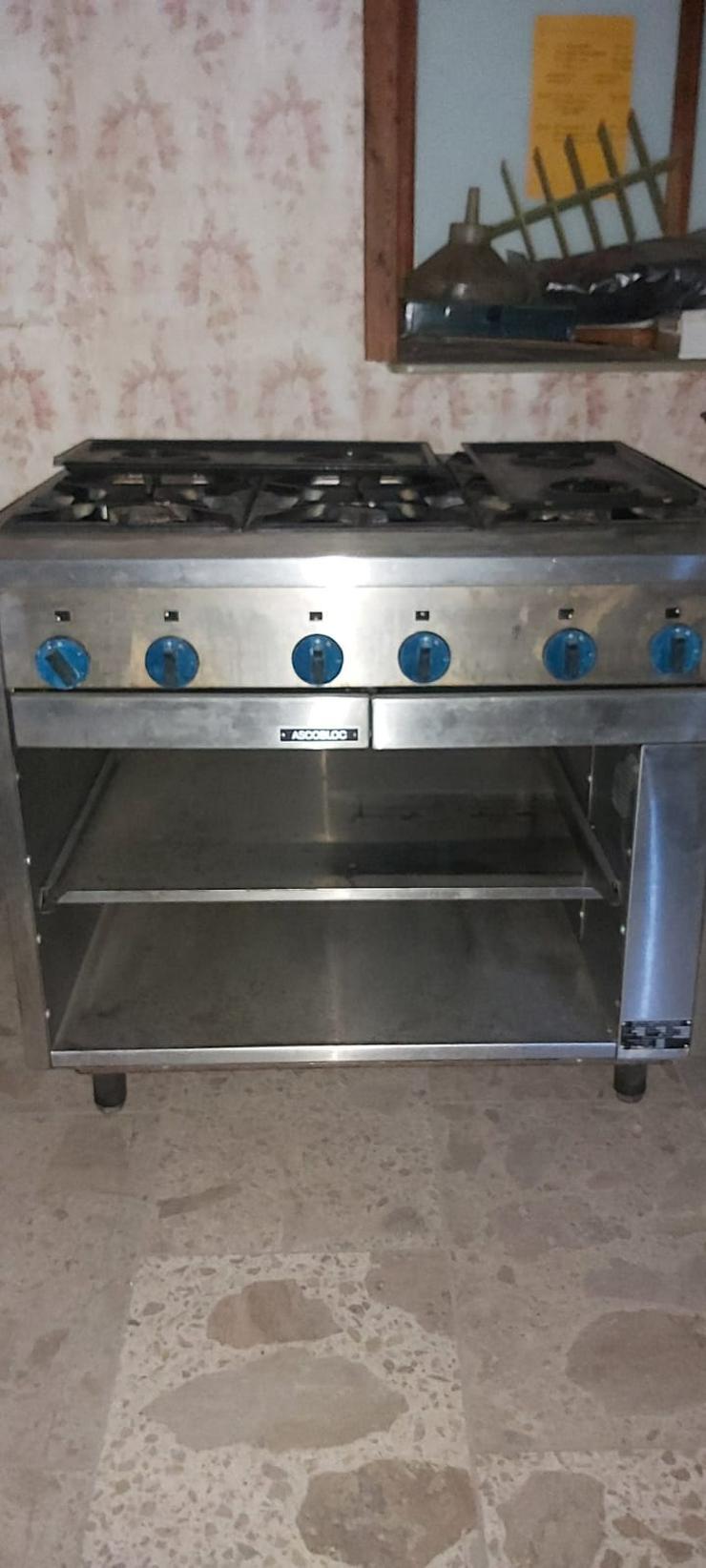 Bild 2: Komplette Küche Gastro Gastronomie Edelstahl Restaurante Kippbratpfanne ASCOBLOC