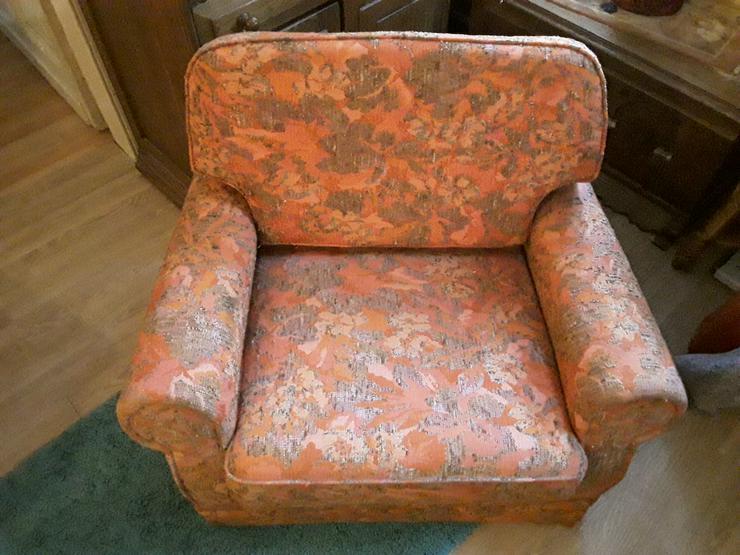 Bild 2: Sessel der 60er / 70er Jahre