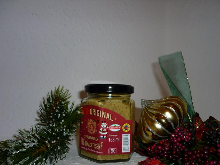 weihnachtlicher Spreewald Senf  Sonderpreis