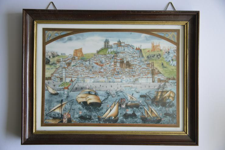 Bild 2: Limitierte Auflage 2x Portugiesische Wandkachel von Vista Alegre. aus 1985