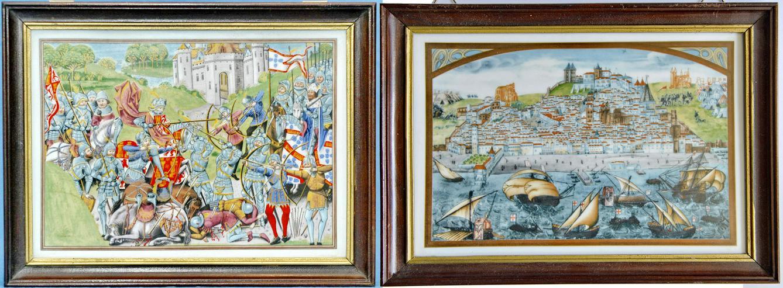 Limitierte Auflage 2x Portugiesische Wandkachel von Vista Alegre. aus 1985 - Weitere - Bild 1