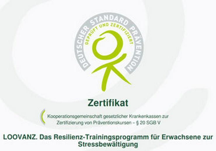 Bild 2: Onlinekurs Resilienz Training - Krankenkassen zertifiziert - Erhöhen der psychischen Widerstandskraft - Stress vermindern