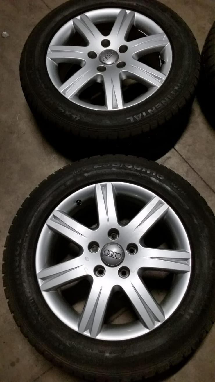 Bild 2: Winterreifen Audi Q7  18 Zoll.