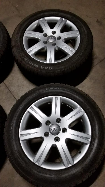Bild 3: Winterreifen Audi Q7  18 Zoll.
