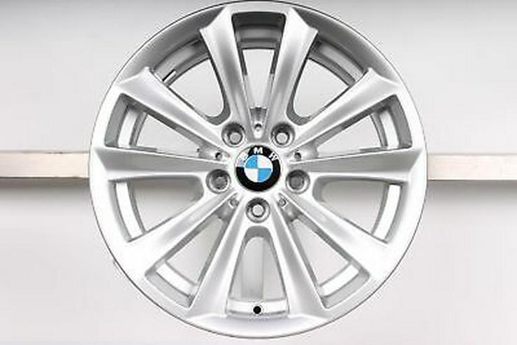 Bild 3: Winterreifen auf original BMW 5er Felgen 17 Zoll.