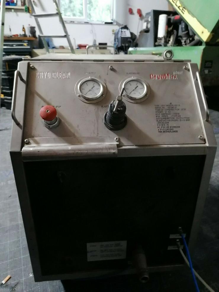 Trockeneisstrahlgerät Cryomax Plus Trockeneis Trockeneisstrahlanlage Trockeneis