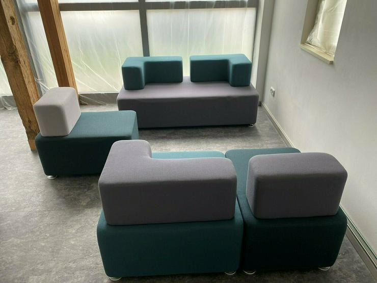 Bild 4: Lounge / Büromöbel mit zugehörigem Tisch von Raumhaus - NP.1600,-