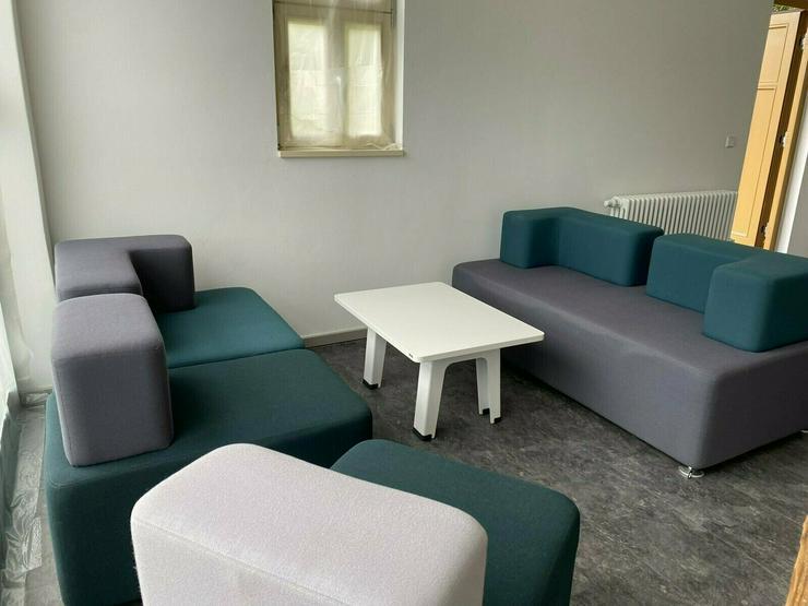 Bild 2: Lounge / Büromöbel mit zugehörigem Tisch von Raumhaus - NP.1600,-