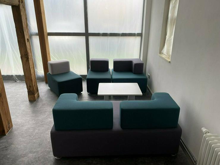Bild 3: Lounge / Büromöbel mit zugehörigem Tisch von Raumhaus - NP.1600,-