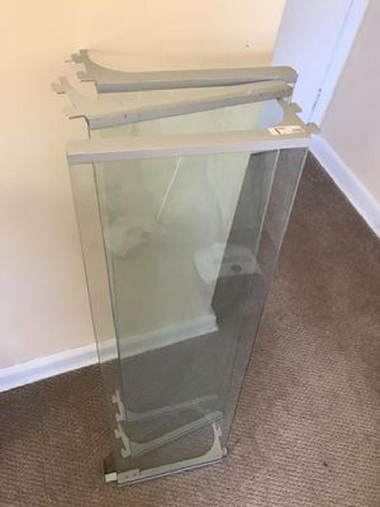 Bild 3:  Ikea ÄNGA Regalsystem Glas Einlegeboden 18859 - NP.300,-