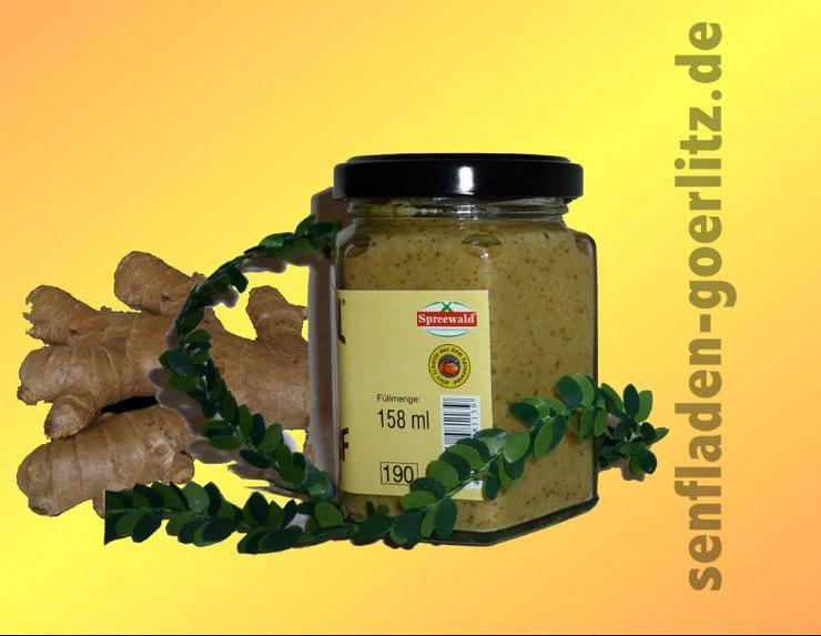 Ingwer Senf Spreewald 170ml  - Sonstiges - Bild 1