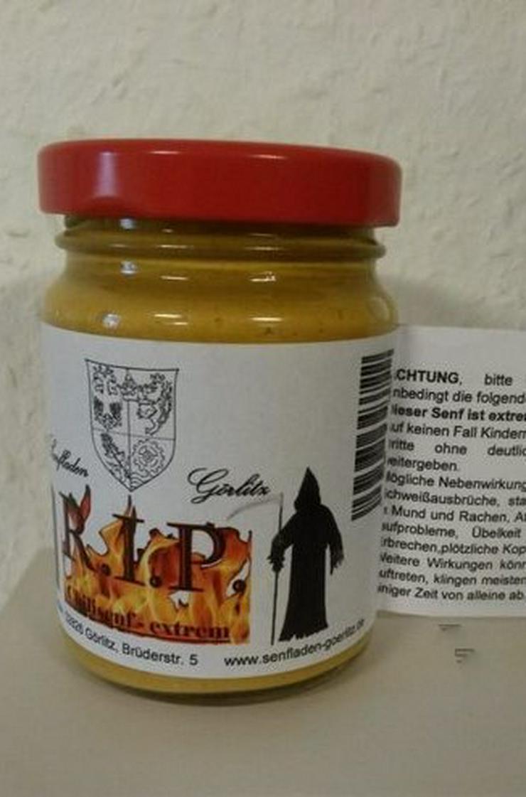 Bild 2: scharfes Duett 2 x 100 ml - Chili Senf - heißes Geschenk