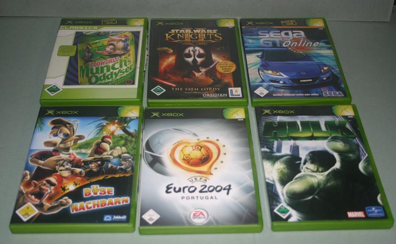 12 - XBOX - Spiele verschiedene sollen laut MS Liste XBOX ONE fähig sein.