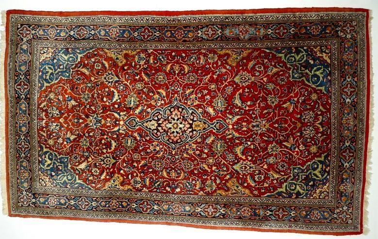 Orientteppich Saruk Sammlerteppich antik (T091)
