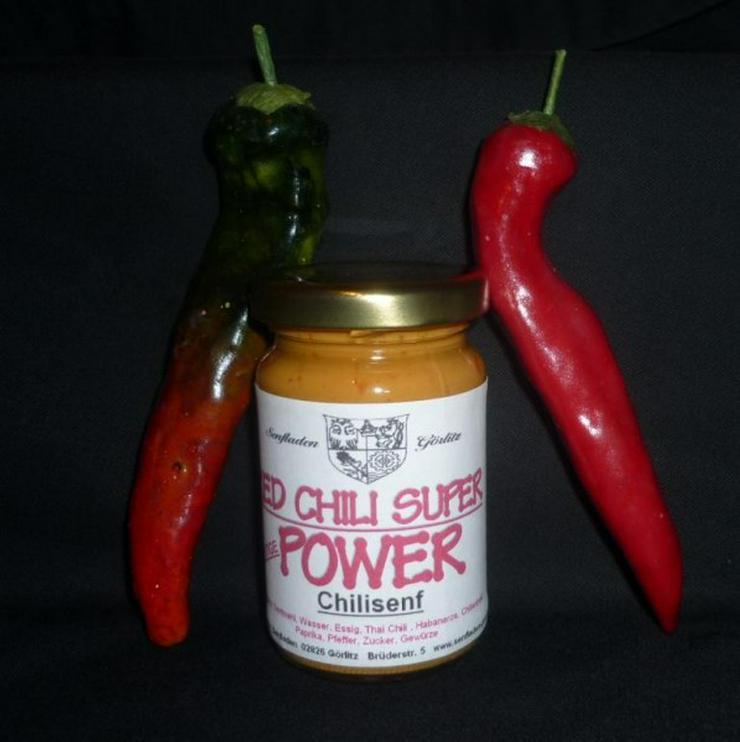 Bild 4: Chili Senf RED MAMBA -extrem scharf- 100ml