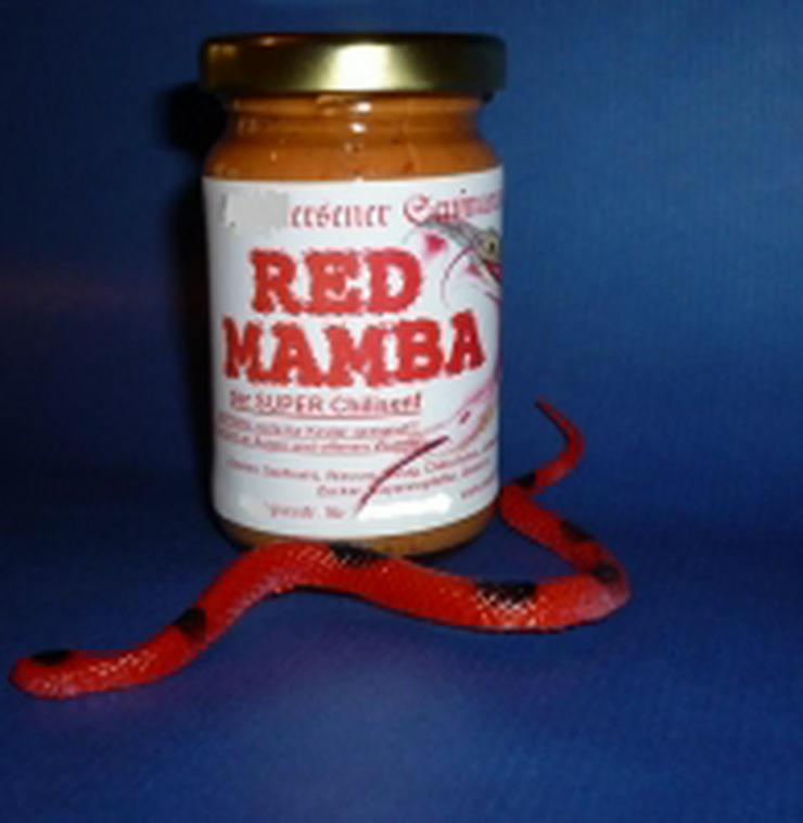 Chili Senf RED MAMBA -extrem scharf- 100ml  - Sonstiges - Bild 1