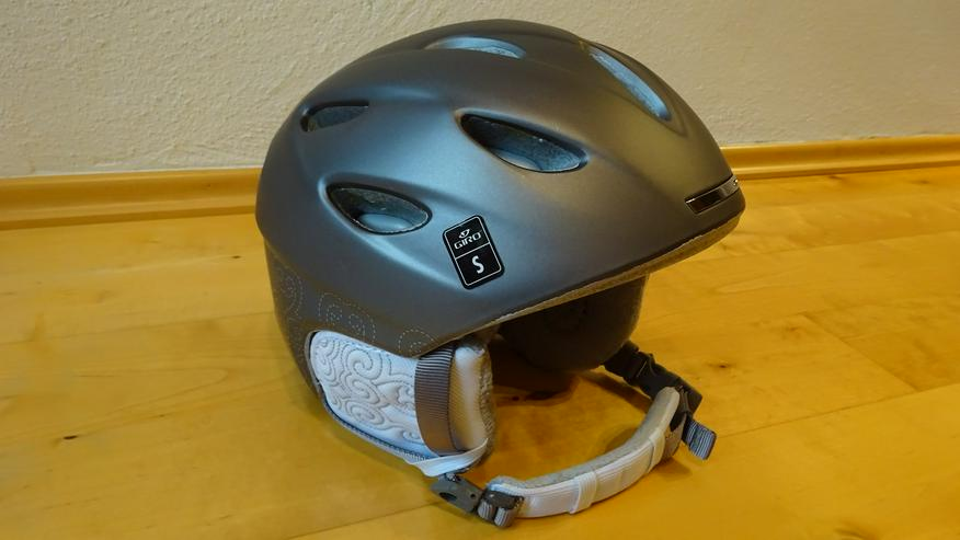 Ski- oder Snowboard-Helm Giro Ember silber Gr. S (= 52-55,5 cm)