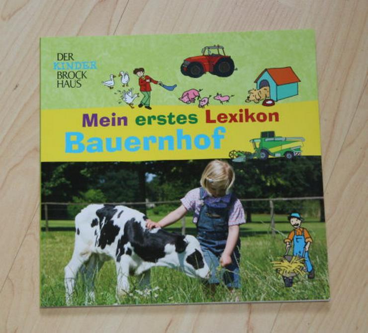 Der Kinder Brockhaus Mein erstes Lexikon Bauernhof Tiere Wissen Bilderlexikon Bilderbuch Sachbuch NEU