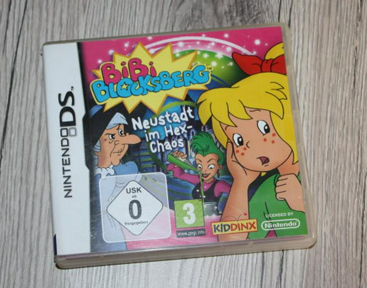 Bibi Blocksberg Neustadt im Hex-Chaos Nintendo DS Kinder Spiel Game Kiddinx Kids inkl OVP & Anleitung