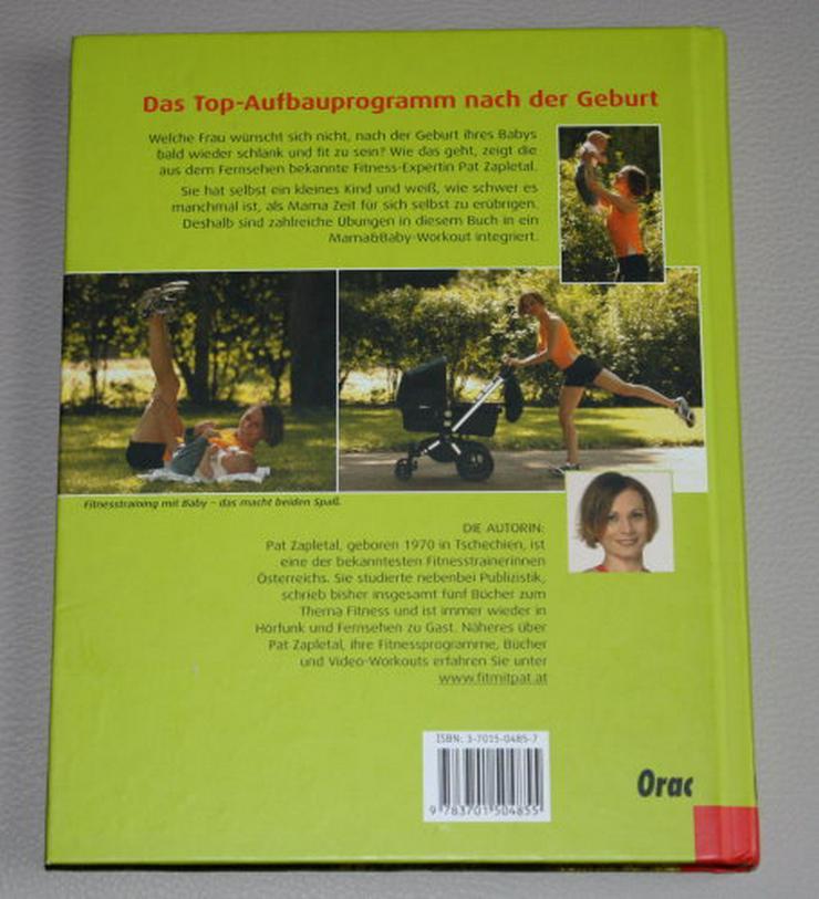 Bild 2: Fit & schlank mit Baby Pat Zapletal Sanftes Training nach der Geburt Mama Fitness-Workout Sport Buch NEU