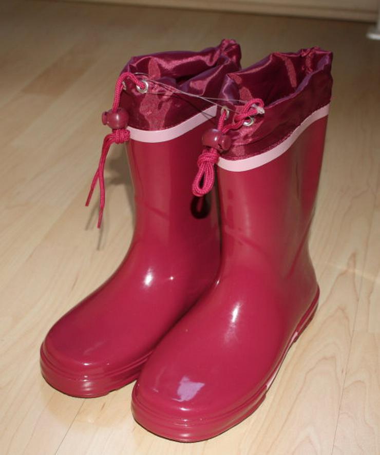 Kinder Gummistiefel Mädchen Regenstiefel Kinderstiefel Matschstiefel Gartenstiefel pink/rosa Gr. 35 NEU