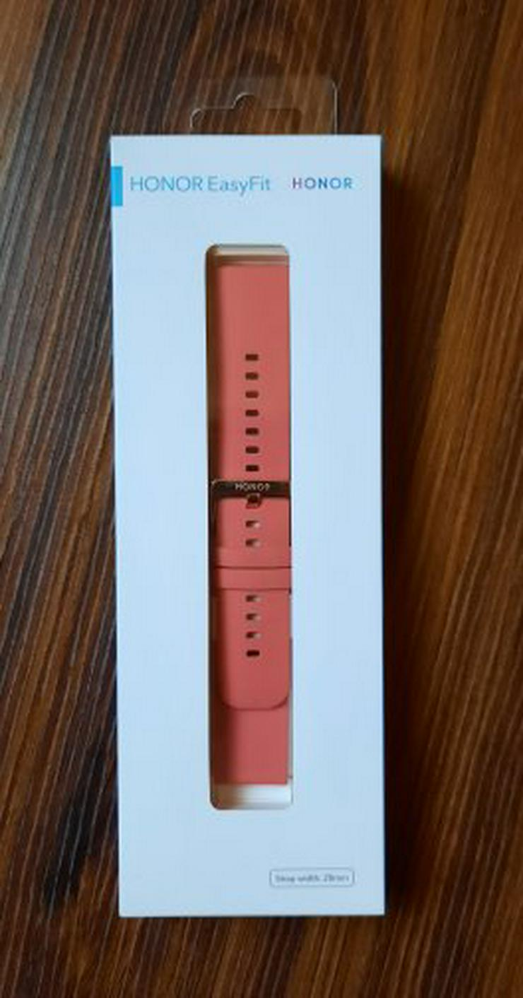 Honor EasyFit 20mm Camellia Pink Strap Uhrenband Magic Watch 2 Armband Smartwatch NEU
