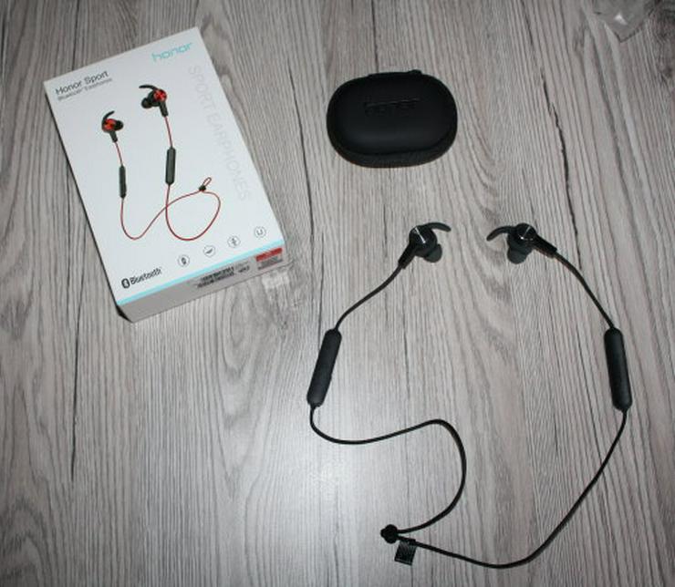 Honor Sport AM61 Bluetooth In-Ear Kopfhörer Lite mit Mikrofon Headset Ohrhörer schwarz black NEU